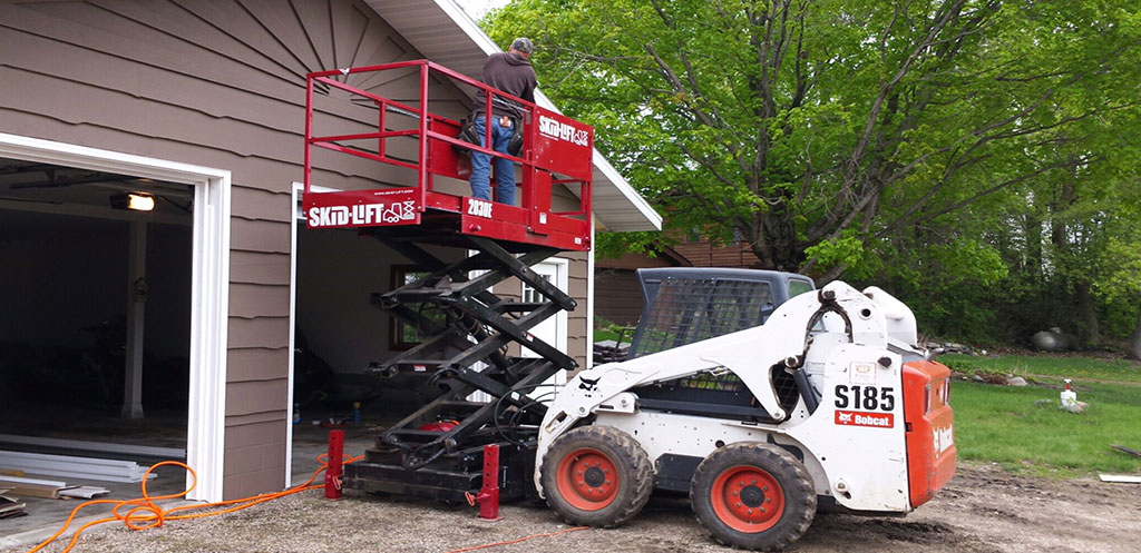 Scissor lift attachments